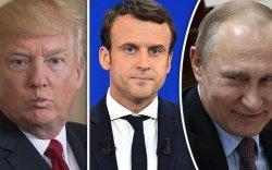 """Трамп, Макрон нар Оросыг """"Их 7""""-д урихаар тохиролцов"""