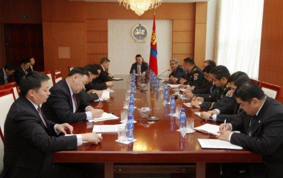 Үндэсний аюулгүй байдлын зөвлөлийн хурал эхэллээ