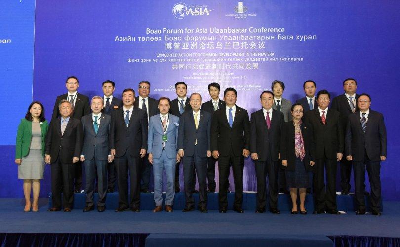 Ерөнхий сайд Азийн төлөөх Боао форумд үг хэлэв