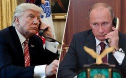 Трамп Путинтэй утсаар ярьж, тусламж санал болгожээ