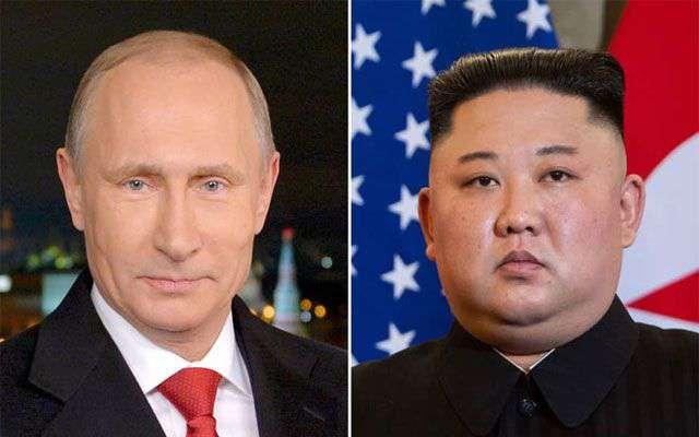 Ким Жон Ун, Путин нар ил захидал солилцжээ