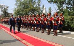 АНУ-ын батлан хамгаалахын сайд Монголд айлчиллаа