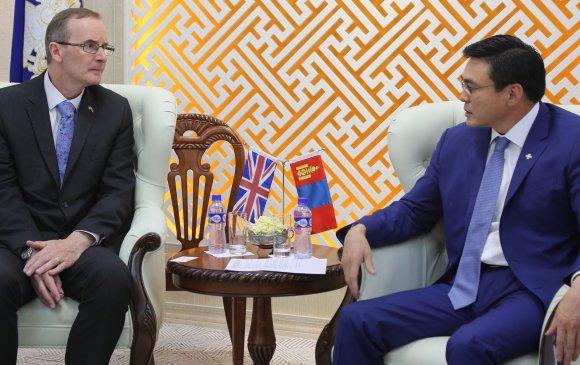 ИБУИНВУ-ын Элчин сайд Филип Малоныг хүлээн авч уулзлаа