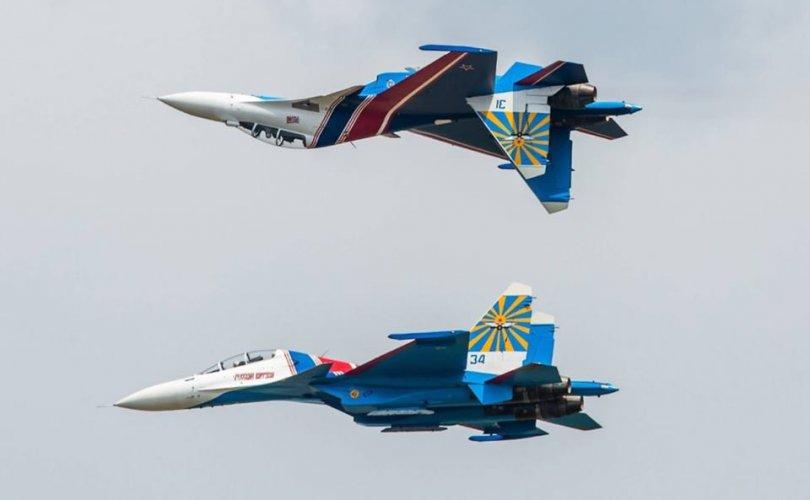 Оросууд Монголд сөнөөгч онгоцоор үзүүлбэр үзүүлнэ