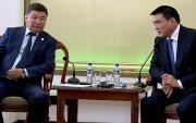Монголын Барилгын үндэсний Ассоциацын төлөөллүүдийг хүлээн авч уулзлаа