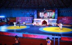 Казах Курес бөхийн Азийн тивийн аварга шалгаруулах тэмцээн болж байна