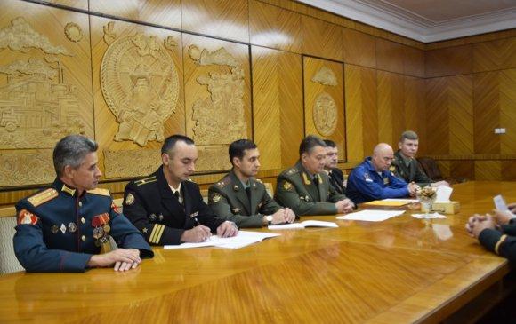 Дэслэгч генерал А.В.Чайков айлчлав