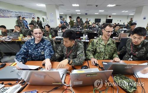АНУ, Солонгос улсын хамтарсан зуны цэргийн сургуулилалт болов