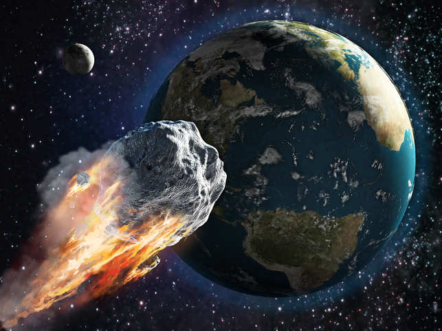 НАСА: Дэлхий рүү хоёр том солир ойртож байна
