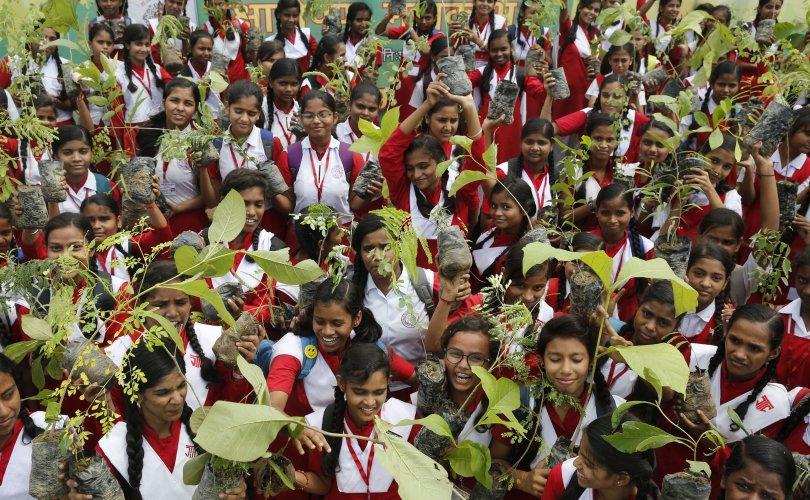 Энэтхэгчүүд нэг өдөрт 220 сая мод тарьжээ