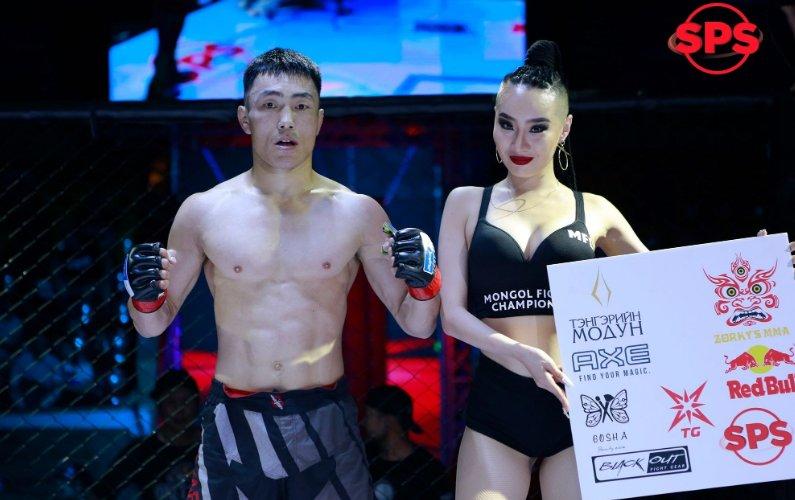 Монгол тамирчин UFC-д анх удаа тулалдана