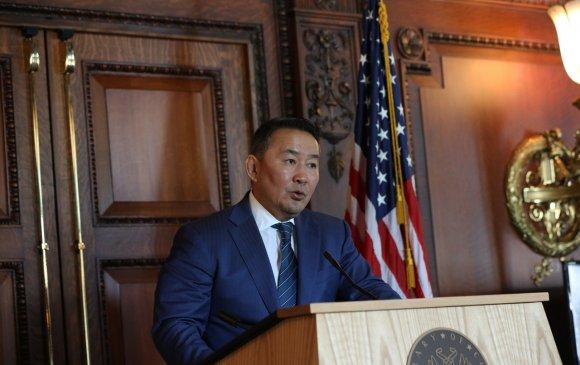 Х.Баттулга: АНУ Монголын хувьд стратегийн түншлэлтэй тав дахь улс боллоо