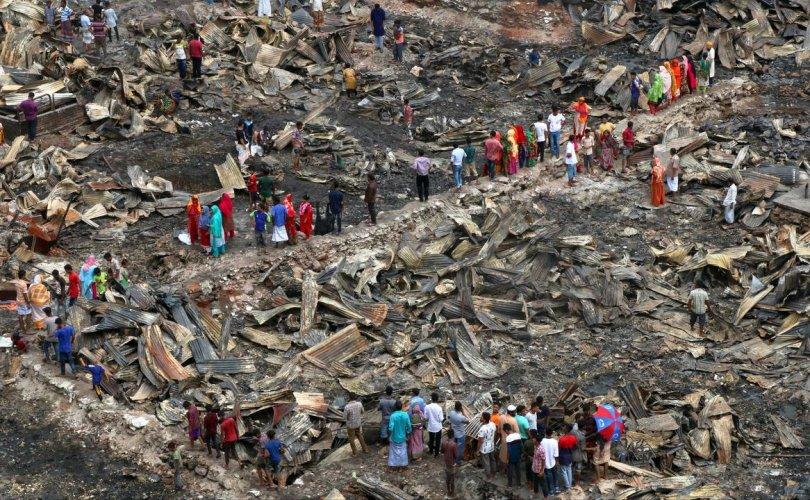 Бангладешт түймэр гарч 50,000 хүн орон гэргүй болжээ