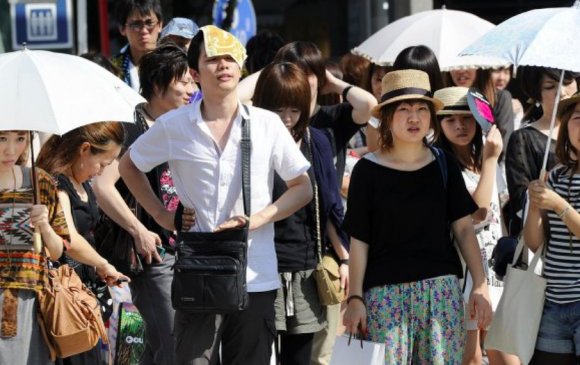 Японд хэт халалтын улмаас долоо хоногт 57 хүн амиа алджээ