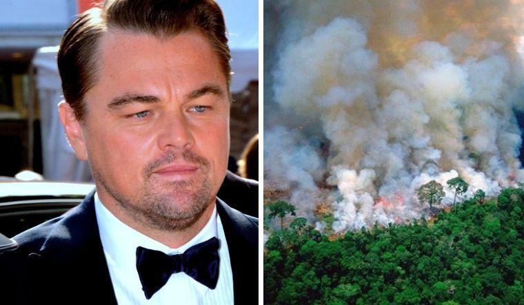 Амазоны түймрийг унтраахад Леонардо ДиКаприо тусална
