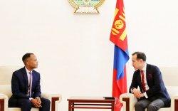 АНУ-ын Олон улсын хөгжлийн агентлагийн Монгол Улсыг хариуцсан захирлыг хүлээн авч уулзав