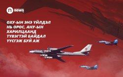 АНУ-ын сөнөөгч онгоцууд ОХУ-ын бөмбөгдөгч онгоцуудыг саатуулжээ