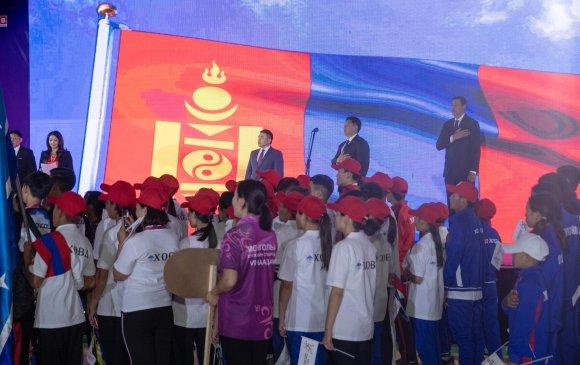 Ерөнхий сайд Монголын хүүхдийн спортын VI наадмын нээлтэд оролцлоо
