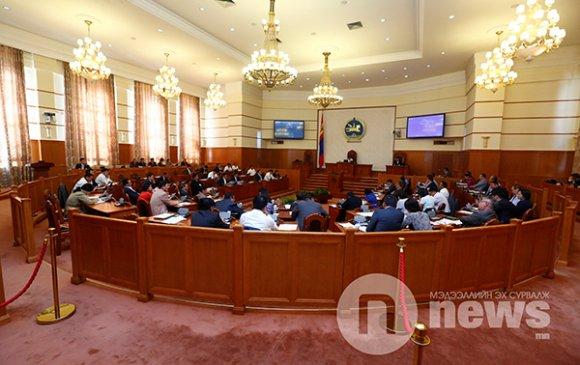 Монгол Улсын Үндсэн хуулийн төслийн эхийг баталлаа
