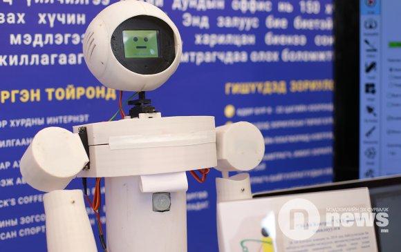 Монголд анхны ресепшн роботыг бүтээжээ