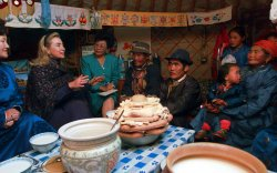 Хиллари Клинтон Монголд айлчлав /1995.09/