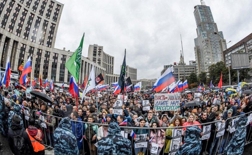 Оросууд жагсаалаа дуусгаж, сонгуульдаа оролцоно