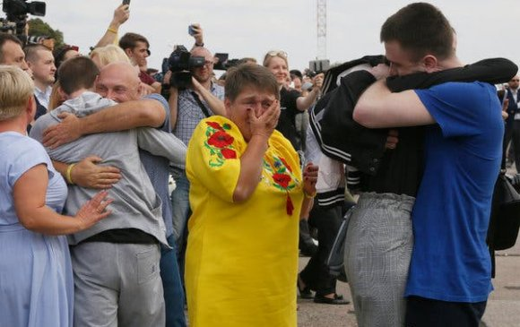 ОХУ, Украин ялтан солилцлоо