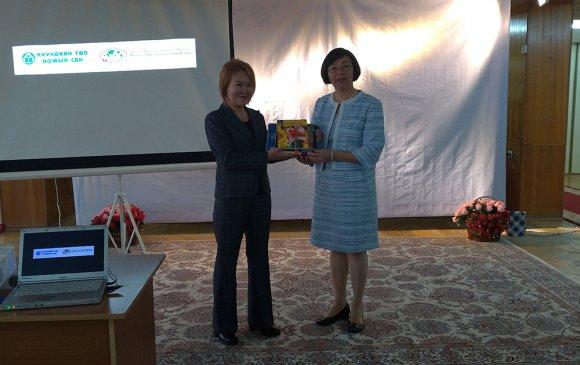 Монголын хүүхдийн төв номын сан Тайваний номоор номын сангаа баяжууллаа