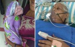 73 настай энэтхэг эмэгтэй хоёр ихэр охин төрүүлжээ