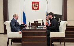 Путин Чеченьд айлчилна