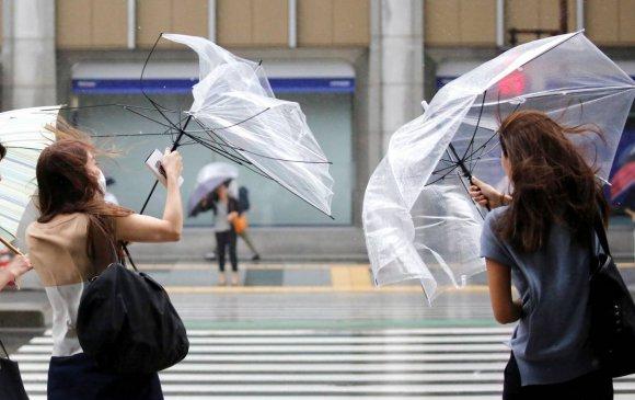 Японд хар салхины улмаас 920,000 айл гэрэл цахилгаангүй болжээ