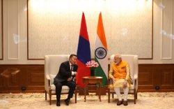 Ерөнхийлөгч Х.Баттулга, Энэтхэг улсын Ерөнхий сайд Нарендра Моди нар уулзлаа