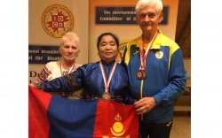 Спортын мастер М.Хишигбаяр дэлхийн аварга болов