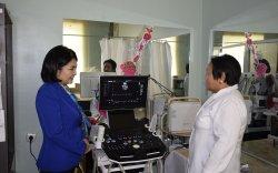 Б.Саранчимэг гишүүн тойргийнхоо цэцэрлэг, өрхийн эмнэлгүүдэд шаардлагатай тоног төхөөрөмжүүдийг хүлээлгэн өглөө