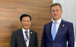 Монгол Улсын нутаг дэвсгэрээр дайрах хий дамжуулах хоолой барих асуудлаар ажлын хэсэг байгуулагдана
