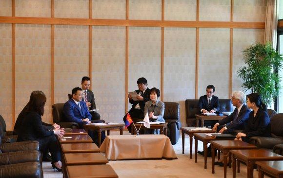 Монгол, Японы парламентын бүлгийн даргын айлчлал үргэлжилж байна