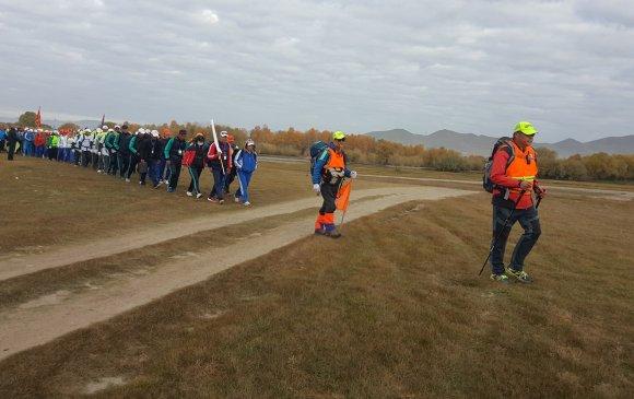 Спорт явган аяллын тэмцээн боллоо