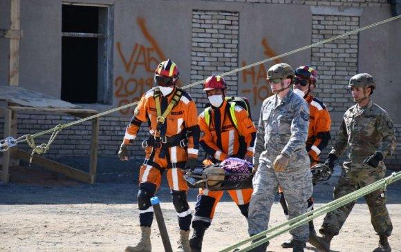 Монгол, АНУ-ын аврагчид хамтарсан дадлага сургууль хийлээ
