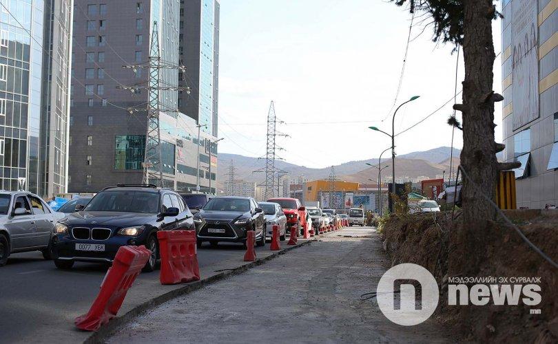 """""""Home plaza"""" орчмын авто замыг өргөтгөх ажил ирэх сард дуусна"""