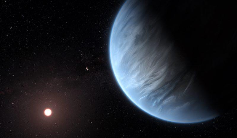 Нарны аймгийн гаднах гаригаас ус, агаар илрүүлжээ
