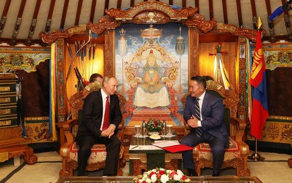 Ерөнхийлөгч Х.Баттулга, ОХУ-ын Ерөнхийлөгч В.В.Путин нар уулзлаа