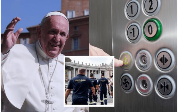 Ромын Пап лифтэнд гацжээ