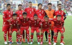 Монгол Улсын шигшээ багтай тоглох Мьянмар улсын баг