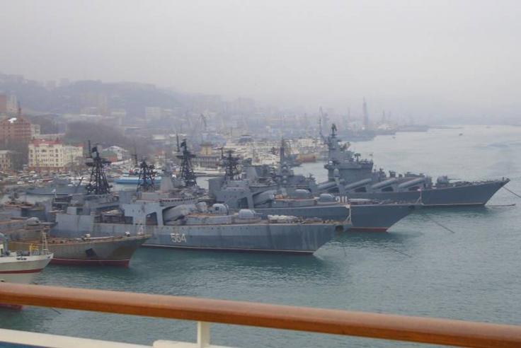 Оросын Номхон далайн флот хүчээ зузаатгав