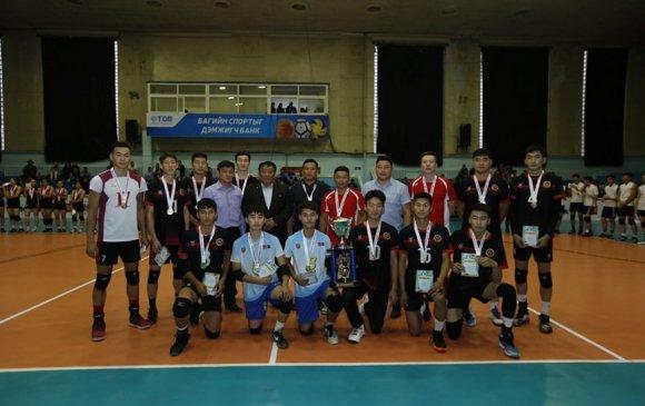 Волейболын залуучуудын Улсын аваргууд тодорлоо