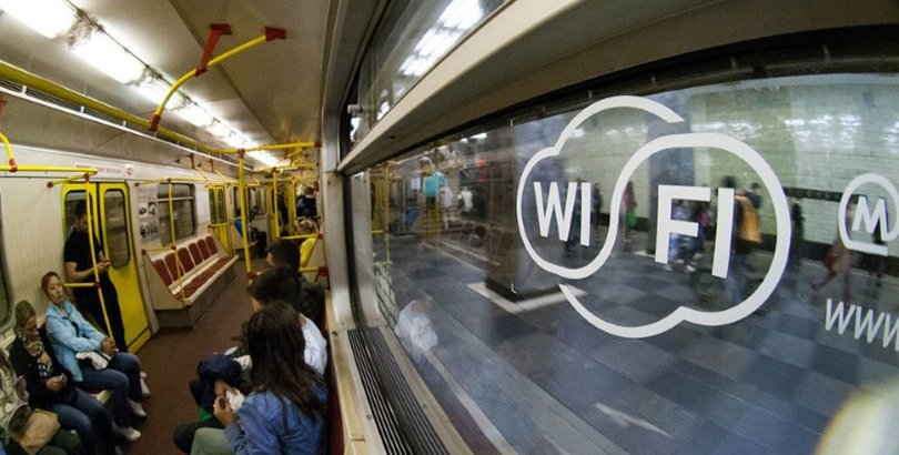 Москвагийн метроны Wi-Fi сүлжээ рекламыг дамжуулахгүй