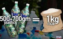 Филиппинд хуванцар хаягдлыг цагаан будаагаар солих аян өрнүүлж байна