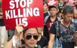 Хонгконгийн жагсагчид цагдаа нартай дахин мөргөлдөв