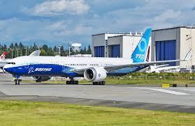 """""""Boeing 777Х"""" нисэх онгоцны туршилтын хугацааг хойшлуулжээ"""