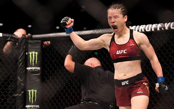 Жан Вэйли бүсгүй UFC-гийн анхны хятад аварга болжээ